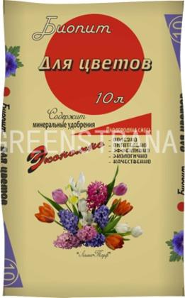 """Плодородная смесь Biopeat """"Для цветов"""""""